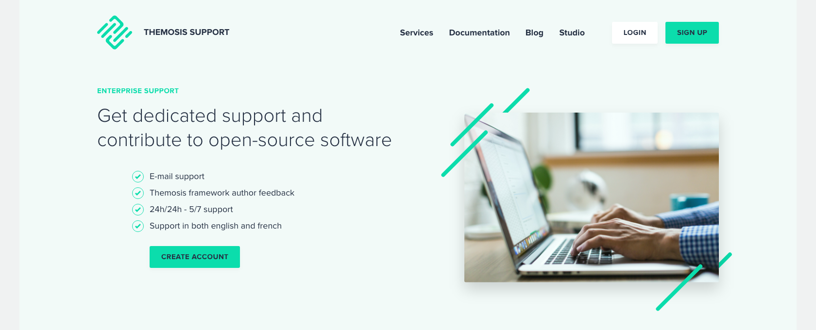 Themosis Enterprise Support